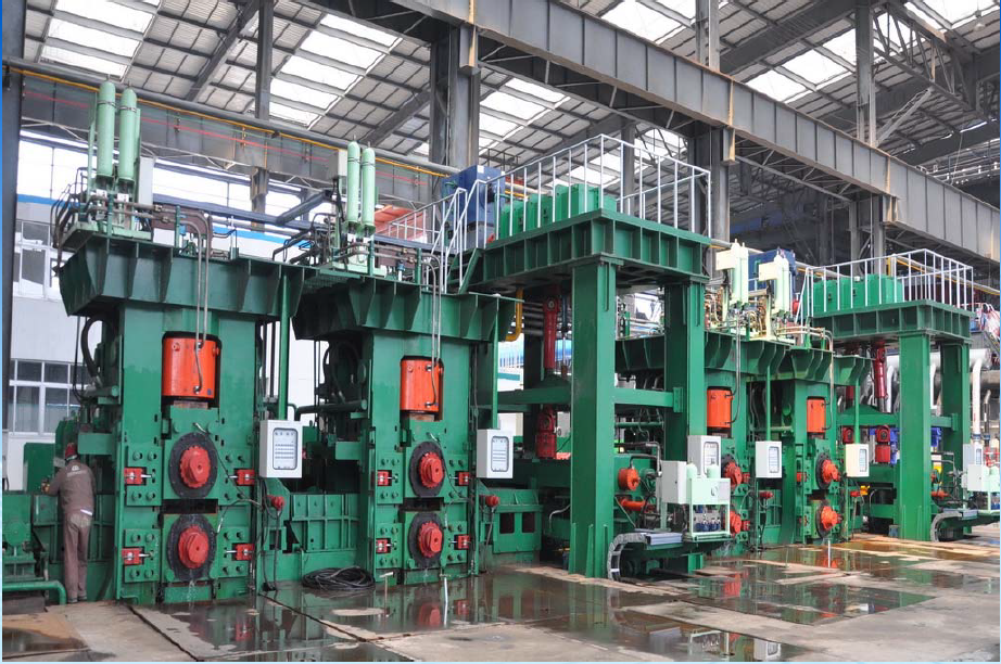 Hot rolling steel coil line