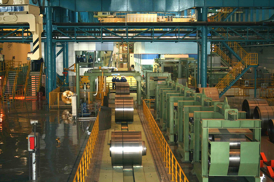 What is the cold rolling coil line (cold rolled coil mill)?