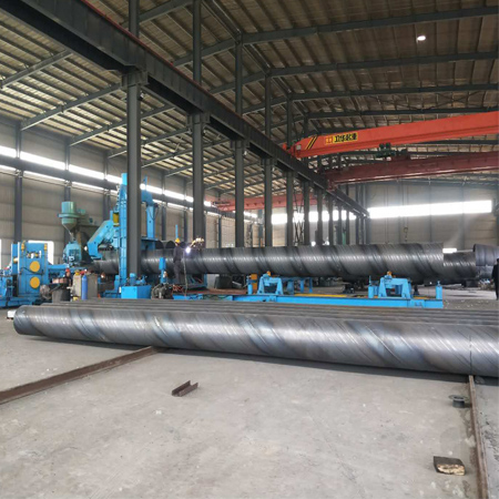219-1620 mm SSAW pipe production line