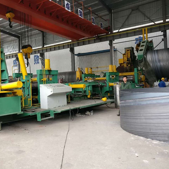 630-3220 mm SSAW pipe production mill