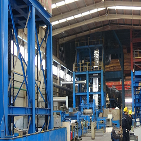150,000 tons continuous hot dip galvanizing line produce process