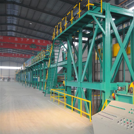 Steel color coating line