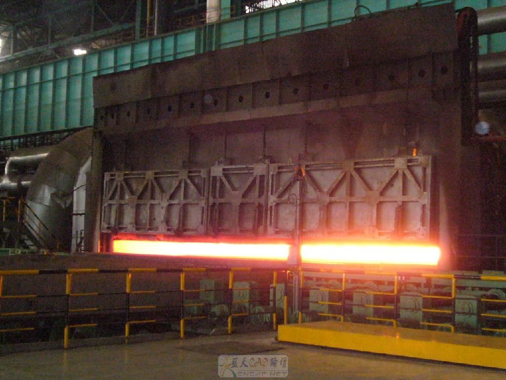 Heating principle of furnace from hot rolling mill