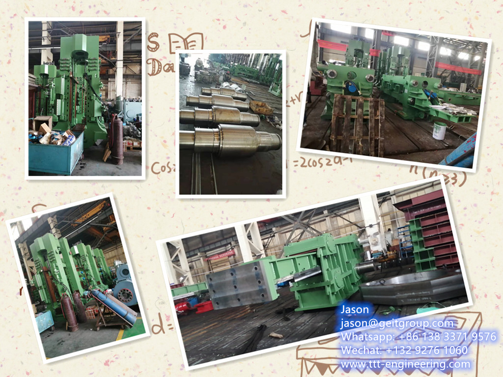550mm Semi-continuous hot rolling steel strip production mill